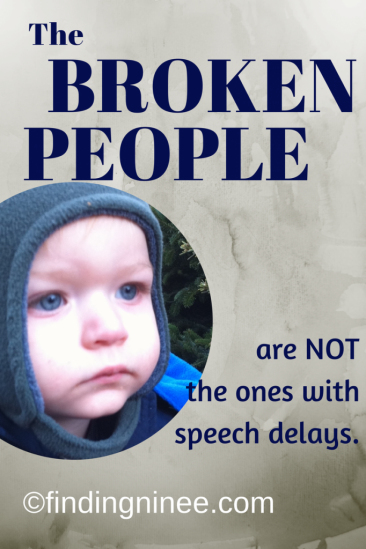 Special Needs is not broken people
