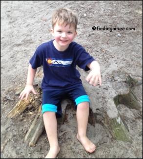 Tucker at MLane barefoot