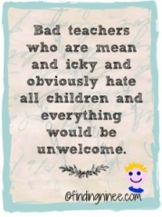 bad teachers unwelcome copy