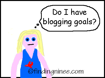 do i have blogging goals