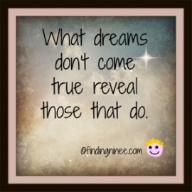 what dreams dont come true reveal those that do_sm