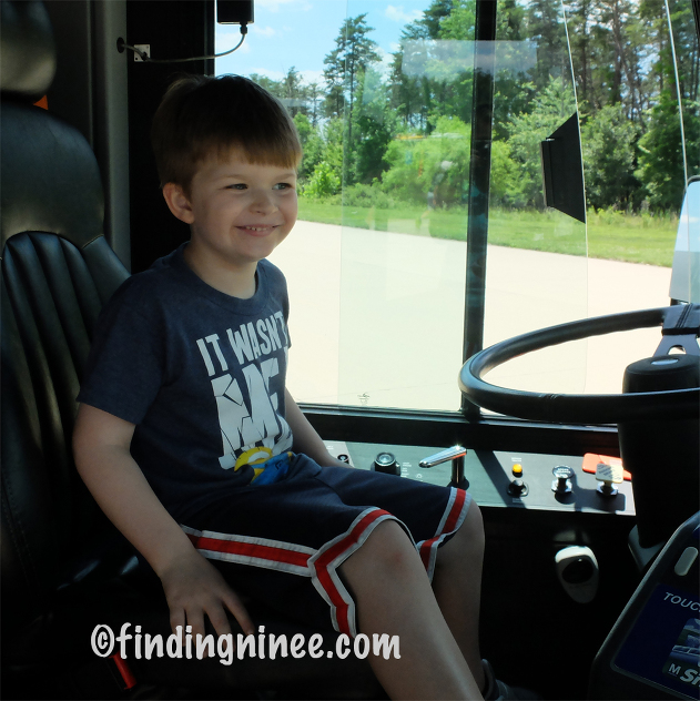 Driving a bus