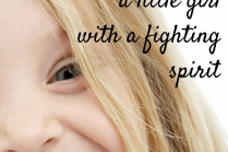 More than a little girl in treatment