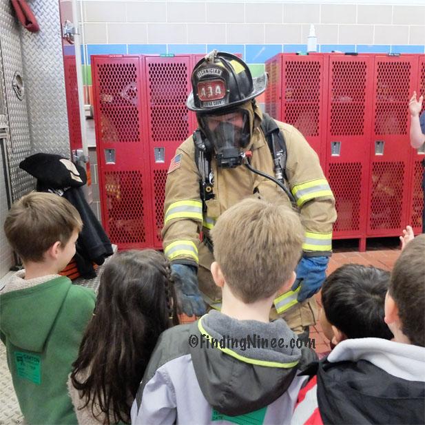 Fire Station Kindergarten Class