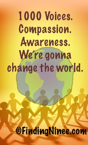 Compassion. Awareness. #1000Speak.