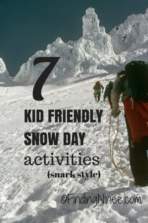 7 snow day projects for kids