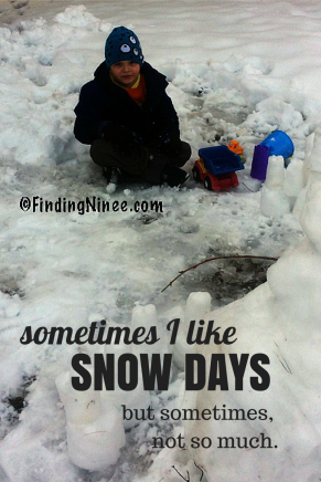 sometimes I like Snowdays