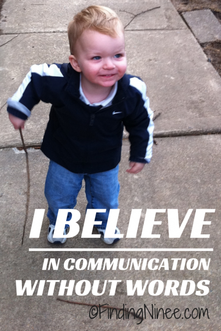 I believe in communication without words. #specialneeds - findingninee.com