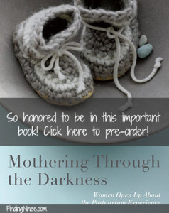 Contributor for Mothering Through The Darkness