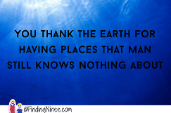 thank the earth